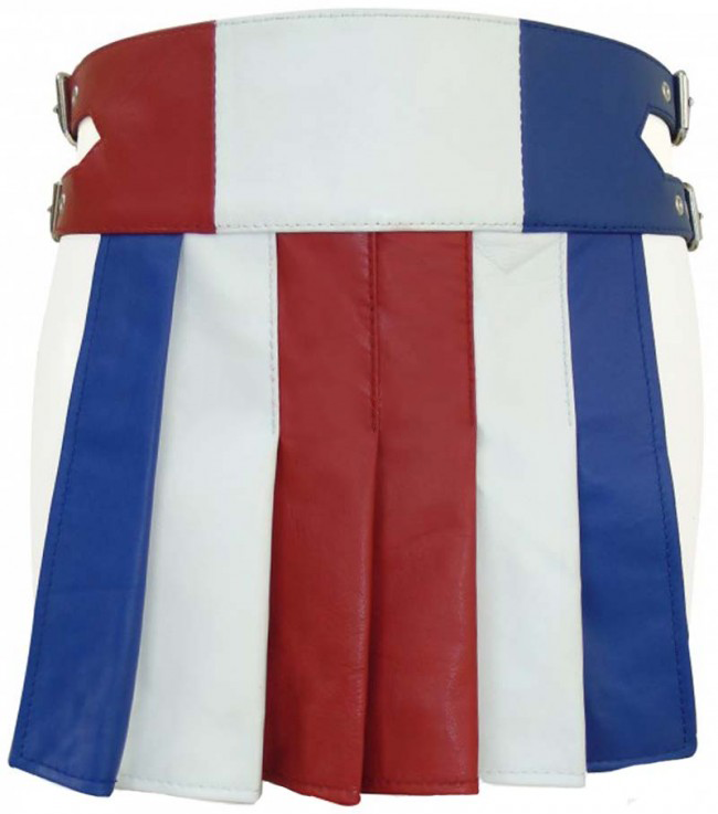 Fashion Gladiator Leather Kilt